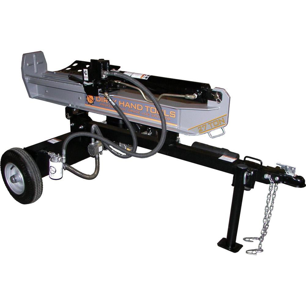 Dirty Hand Tools 27 Ton Horizontal Vertical Log Splitter, Kohler Engine by Log Splitters