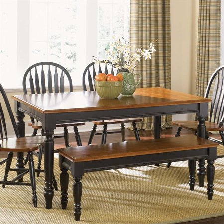 Liberty Furniture Low Country Dining Table in Anchor Black Country Dining Room
