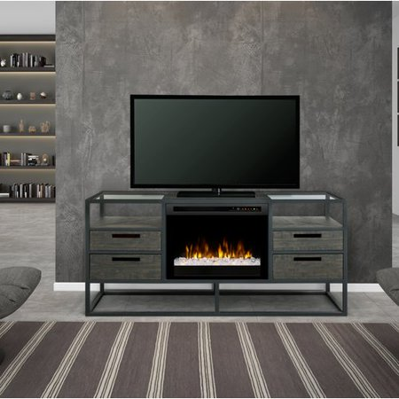 Dimplex Ivan Media Console Fireplace with XHD Series - Xhd Series