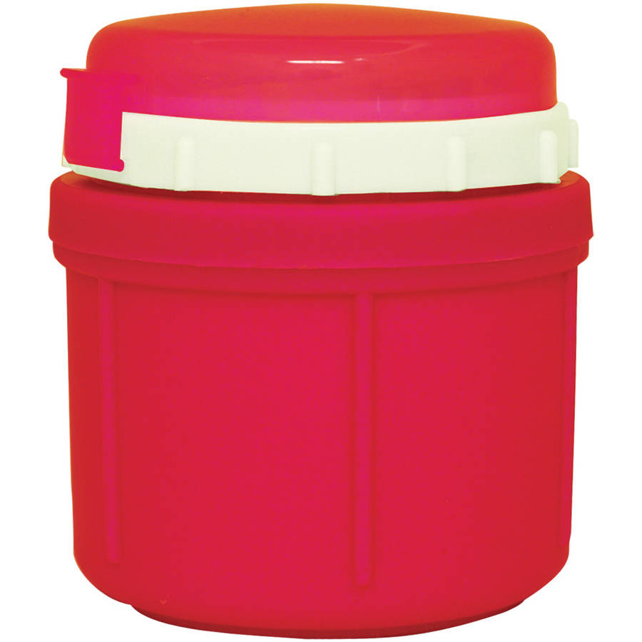 Range Kleen GO GO Foam Insulated Food Jar, 10 oz, Cherry Red