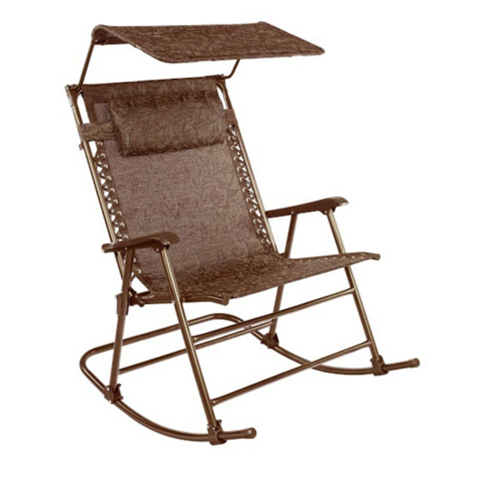 Deluxe Rocking Chair with Canopy