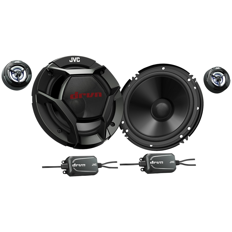 "JVC Mobile CS-DR600C DRVN Series 6.5"" 360-Watt 2-Way Component Speakers"