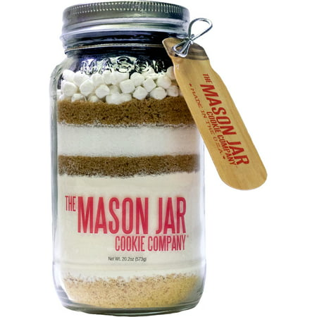 The Mason Jar Cookie Company Gimme S'mores Cookie Mix in a Mason Jar, 20 oz