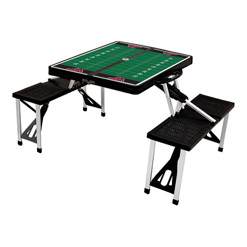 "Picnic Time Folding Table Sport Virginia Tech Hokies  33.625"" x 4 x15"""
