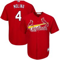 Yadier Molina St. Louis Cardinals Big & Tall Replica Player Jersey - Red