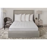 Sunbeam Quilted Dual Control Heated Mattress Pad, Queen