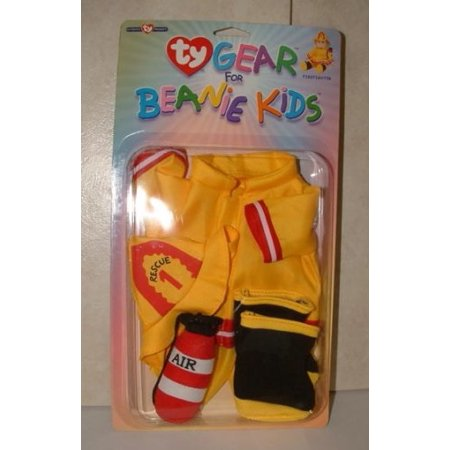 ty gear for beanie kids - Fire Fighter Outfit