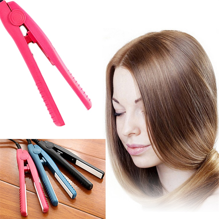 Walmart Hair Styling Tools New Arrival Professional Mini Portable Travel Ceramic Flat Iron .
