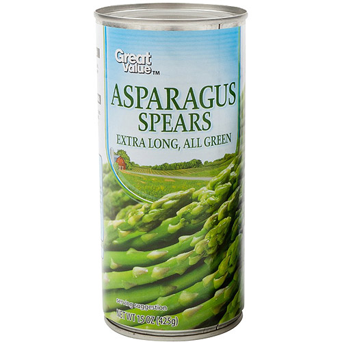 Great Value: Asparagus Spears, 15 oz