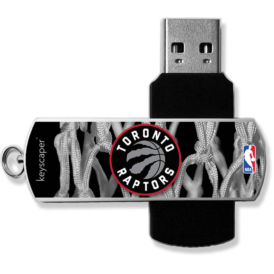 Toronto Raptors Net Design USB 8GB Flash Drive by Keyscaper