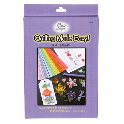 Quilling Made Easy Kit Tools Paper Instructions Cards