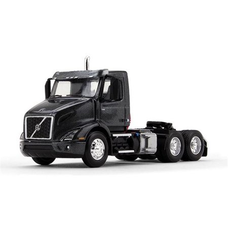 Volvo VNR 300 Day Cab Stormy Gray Metallic 1/64 Diecast Model by First
