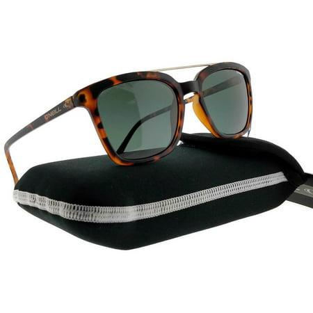 ONeill BERESFORD-102P-52 Men's Tortoise Frame Green Lens Polarized (Oneill Sunglasses)