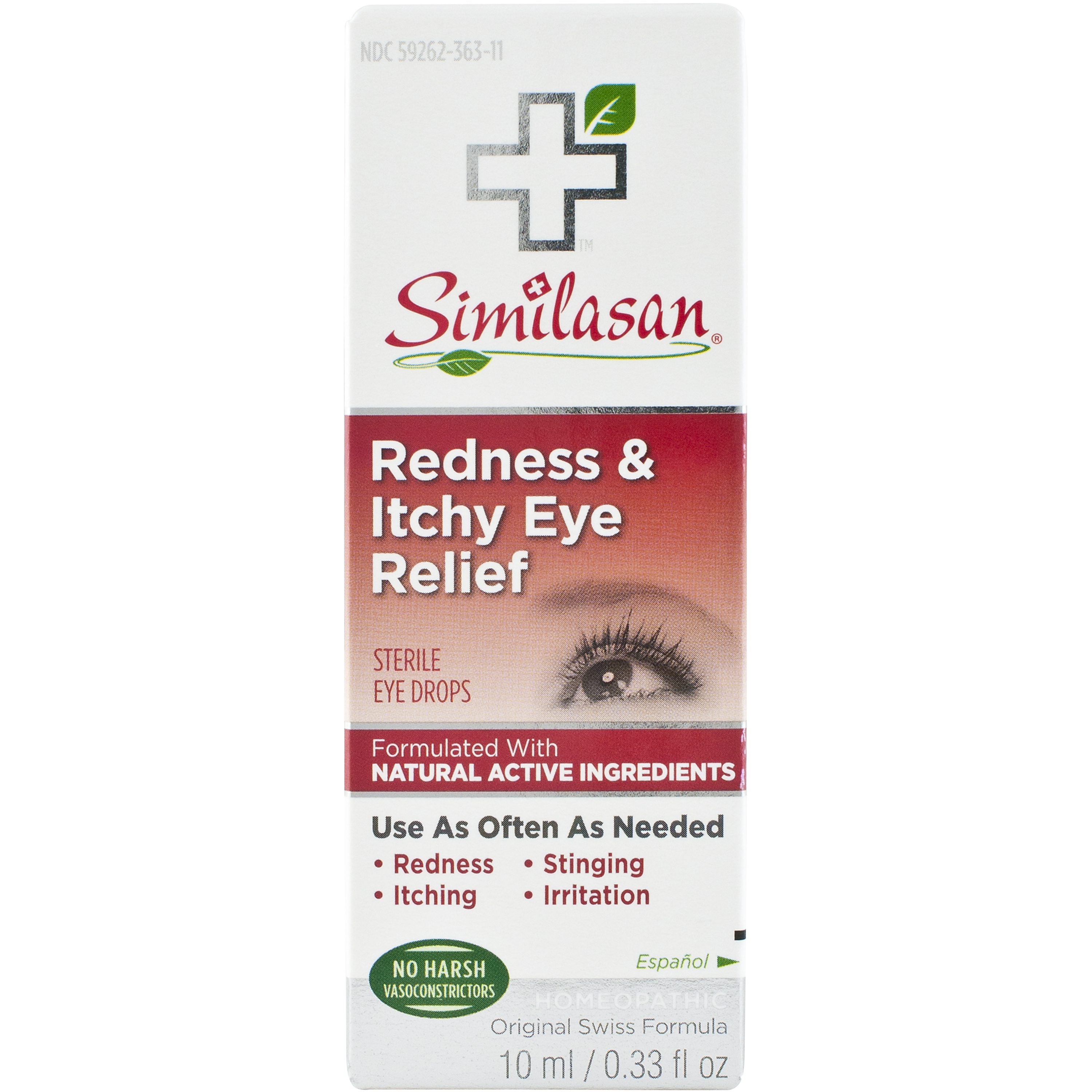 Similasan Redness & Itchy Eye Relief .33 fl oz