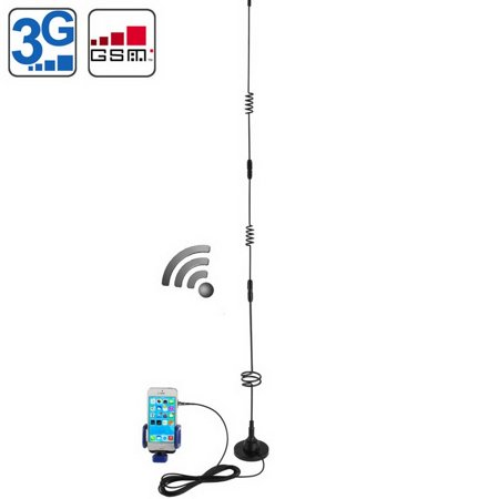 Home Travel Car Cell Phone Signal Strength Booster Repeater Antenna