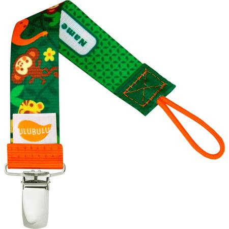Feeding Clip - Ulubulu Bananabutt Pacifier Clip, Single Pack