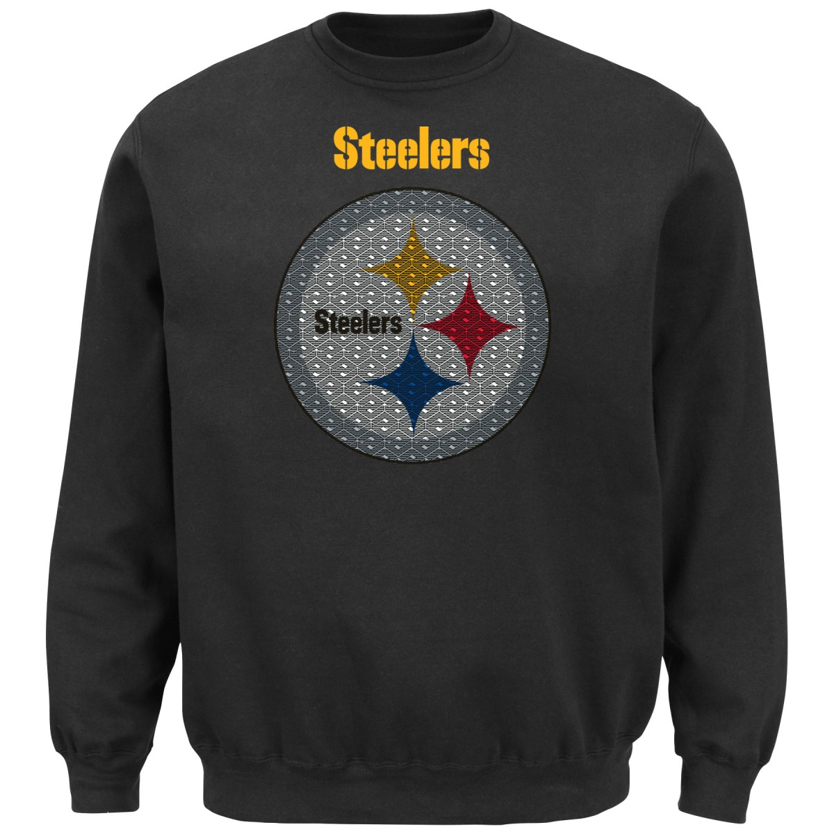 Pittsburgh Steelers Majestic NFL Critical Victory Crew Sw...