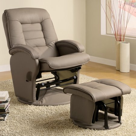 Brayden Studio Recliner and Ottoman