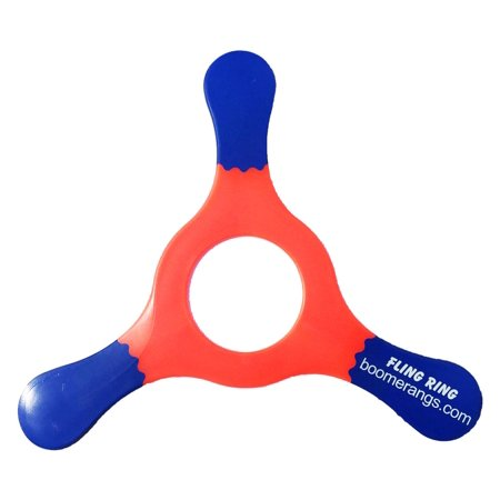 Red Fling Ring Boomerang - One of our easiest to throw Kid