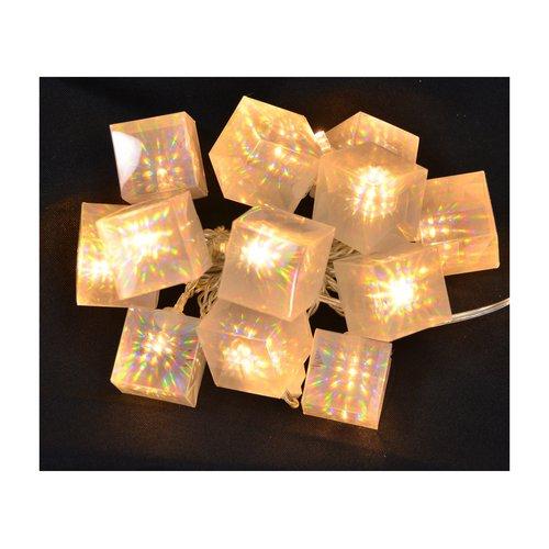 The Holiday Aisle 10 Bulb Gift Box Garland (Set of 2)