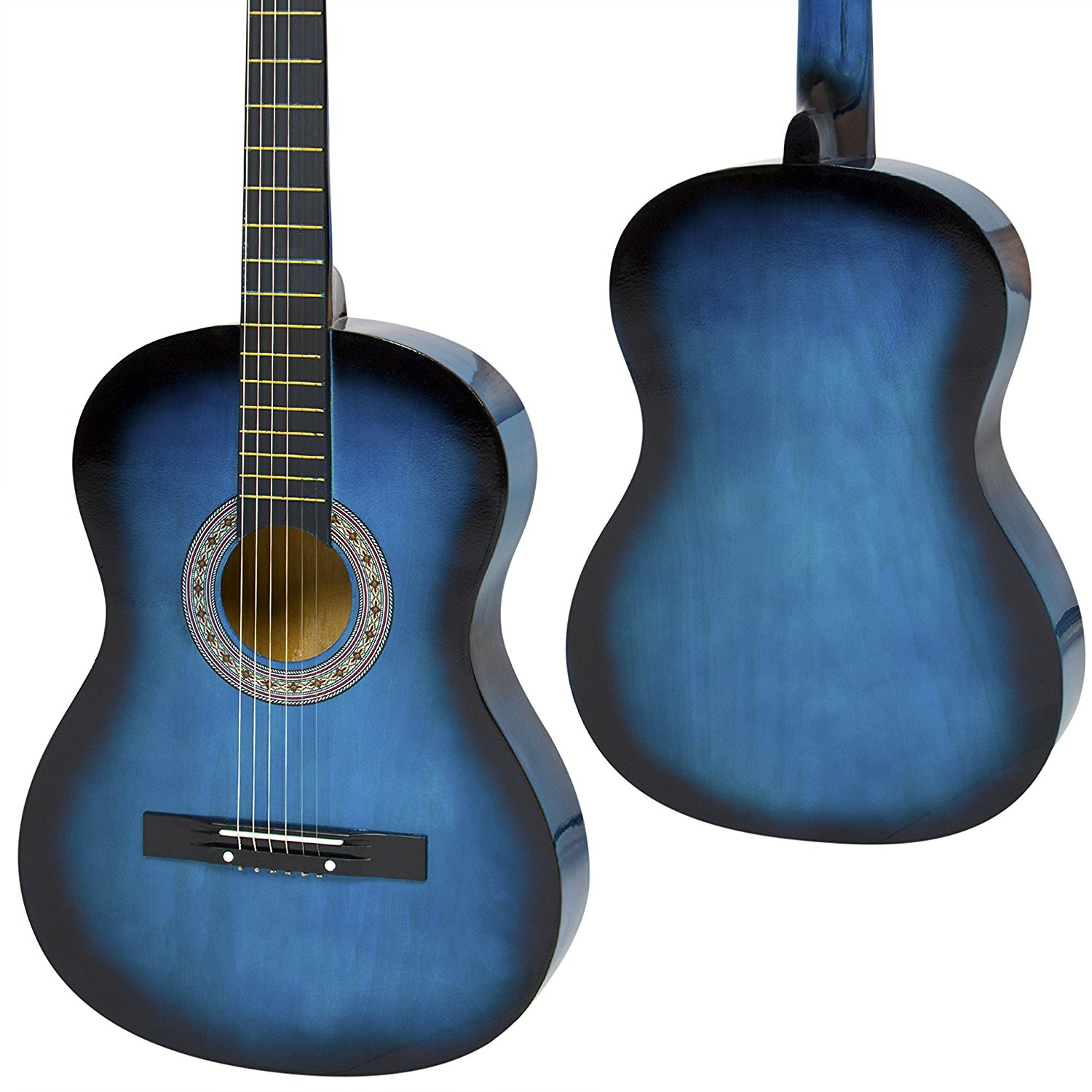 Best Choice Products Beginners Acoustic Guitar With Case Strap