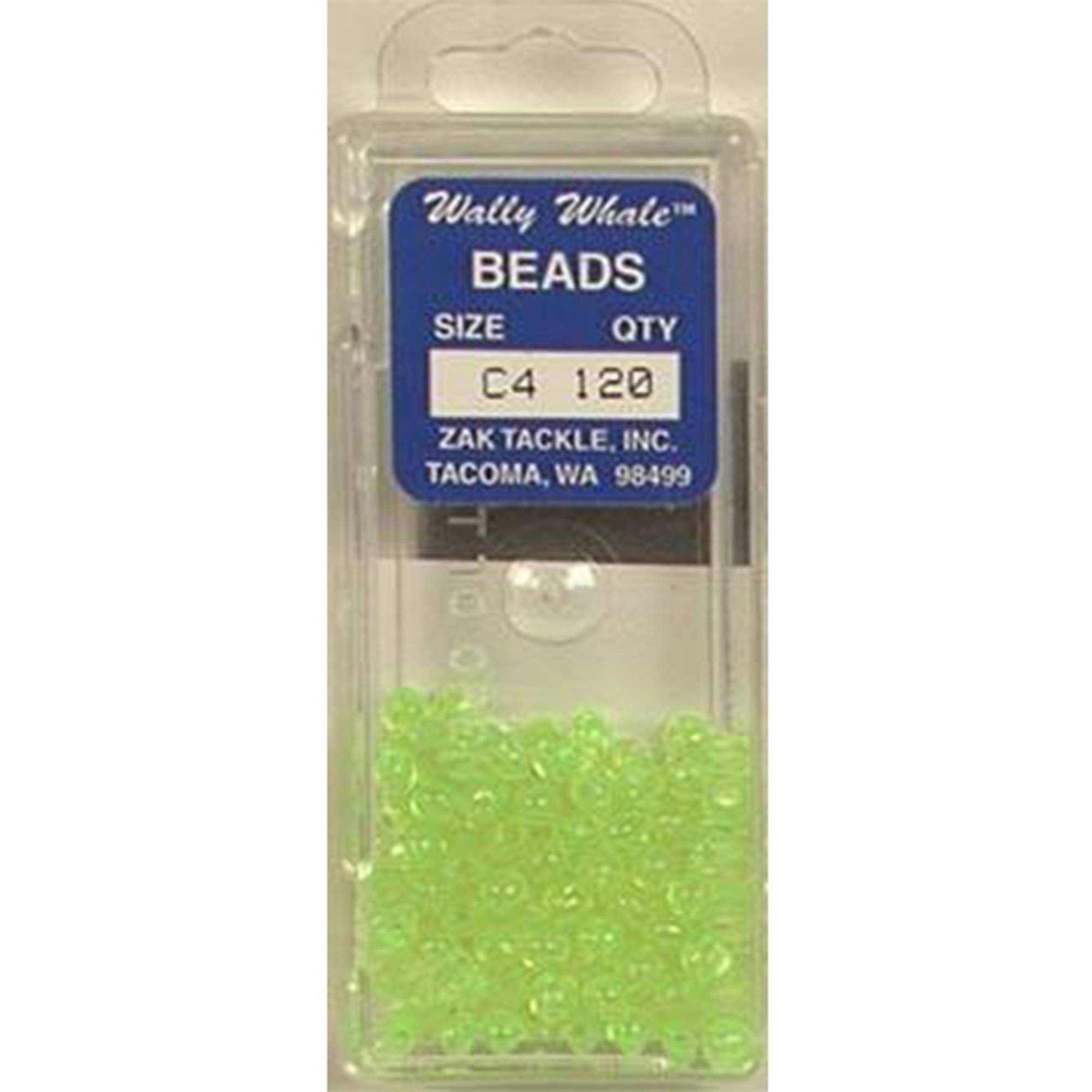 Zak Tackle Chart Beads SZ4 Box of 120 by Gibbs
