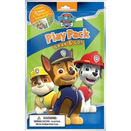 Party Favors - Paw Patrol Grab and Go Play Pack ( 12 Packs - Play Pack Grab And Go