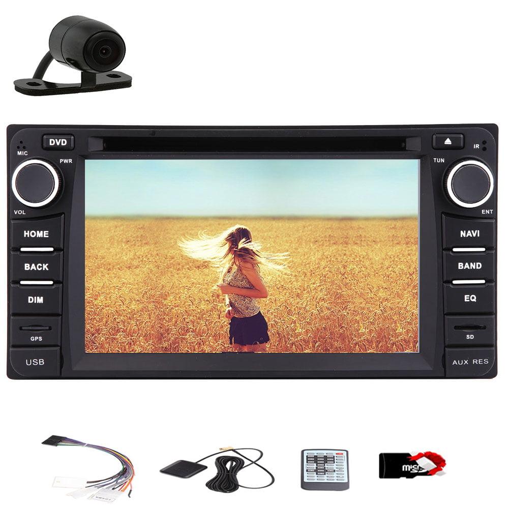 GPS Navi Car Radio Receiver Monitor Bluetooth Headunit Ca...