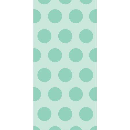 Dots Favor Saver (Mint Green Polka Dot Favor Bags, 20pk )