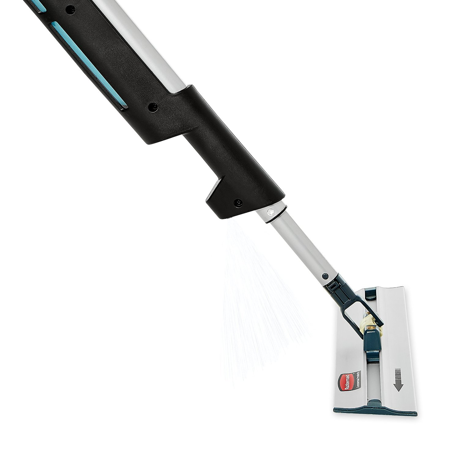 rubbermaid commercial products ergo reach pulse flat mop kit walmartcom
