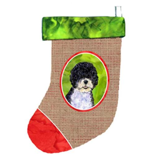 Portuguese Water Dog Christmas Stocking SS2058