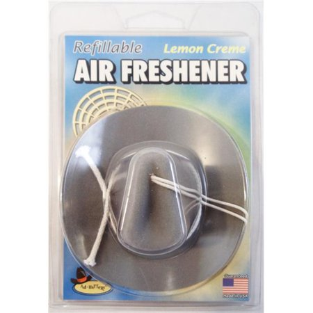 AD-HATTERS REFILLABLE LEMON CREME GREY COWBOY HAT AIR FRESHENER for $<!---->