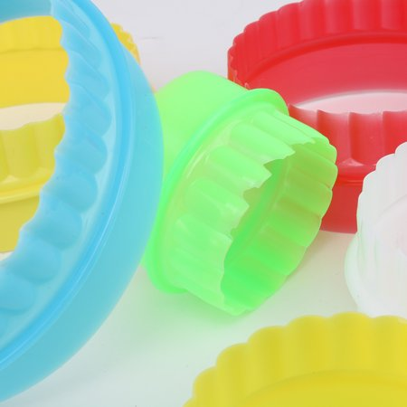Colorful Multi-shape Plastic Mold Cookie Biscuit Cutter Mould Pastry Maker Tools - image 2 of 8