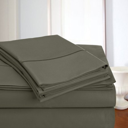 Image of 800 thread count 100% Egyptian Cotton 4 Pieces Sheet Set