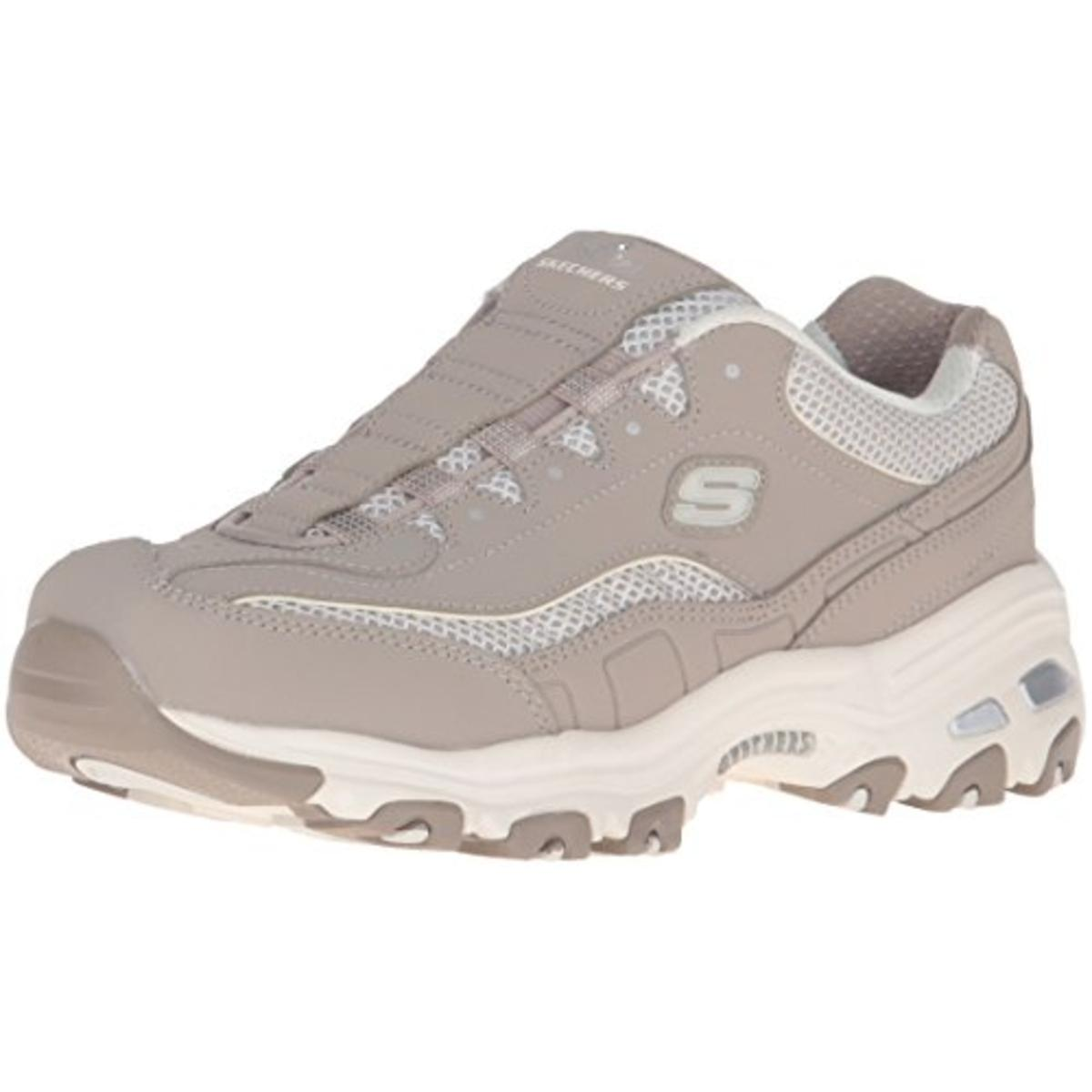 Skechers Womens D'Lites Truth Be Told Mesh Comfort Insole...
