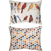 Manual Woodworkers & Weavers Usual Suspects Lumbar Pillow