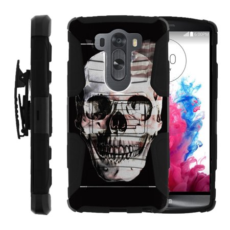 LG V10 Case | LG G4 Pro Case [ Clip Armor ] Rugged Impact Defense Case with a Built in Kickstand + Holster - USA