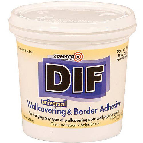 Zinsser DIF Wallcovering and Border Adhesive