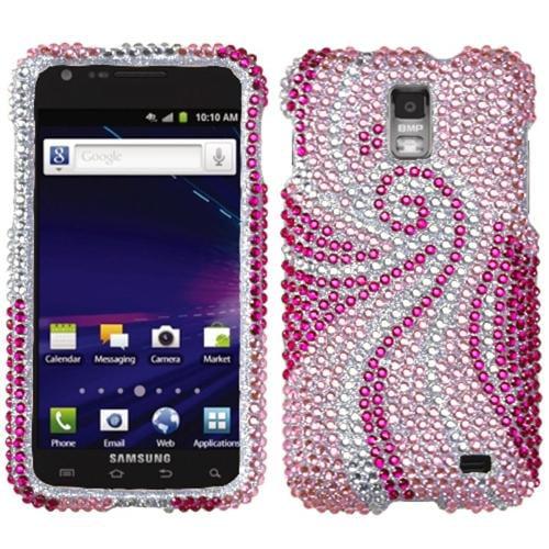 Insten Phoenix Tail Diamante Case for SAMSUNG: i727 (Galaxy S II Skyrocket)