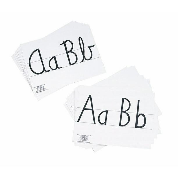 Handwriting Without Tears 006019 Cursive Display Card Set