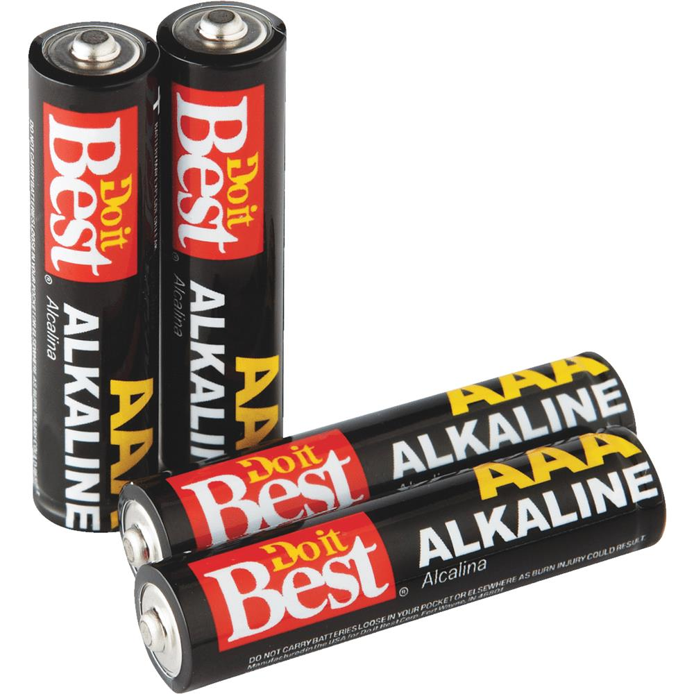 Ray-O-Vac 4 Pack Dib Aaa Alk Battery DIB824-4