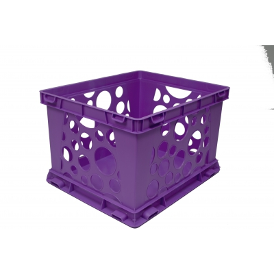 Large Storage And Transport Crate, Purple STX61570U01C