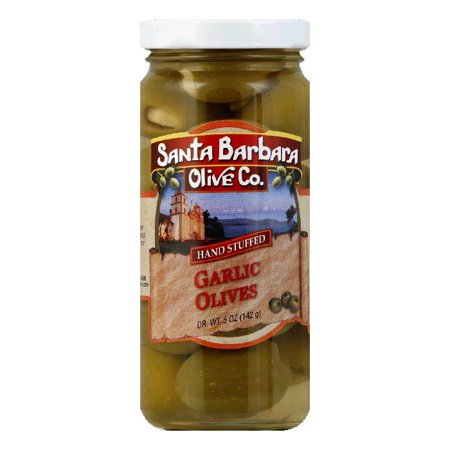 - Santa Barbara Olives Stuffed Garlic, 5 OZ (Pack of 6)