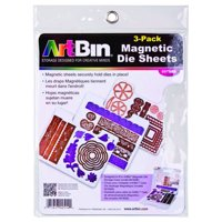 ArtBin Die Cut Magentic Storage Sheets Refills 3Pk