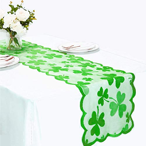 Patrick/'s Day Shamrock Lucky Irish Indoor /& Outdoor Tablecloth New Dining St
