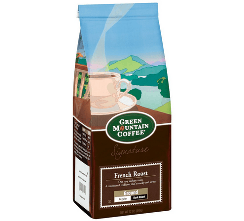 Green Mountain French Roast Coffee, 12 OZ (Pack of 6)