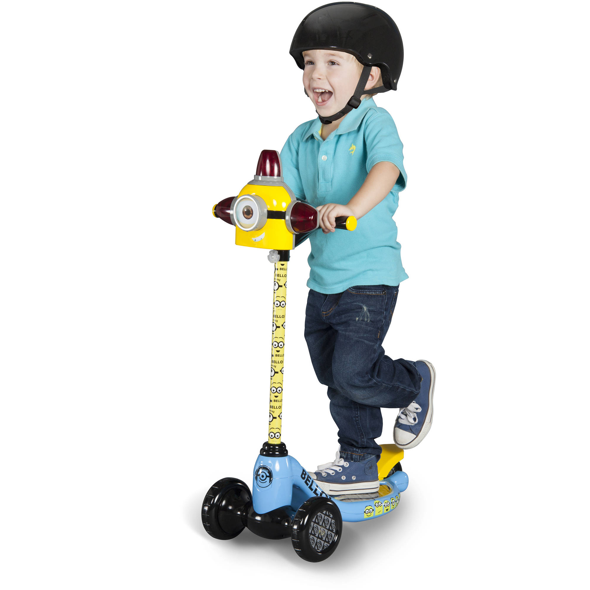 Dynacraft Minions 3-Wheel Scooter by Generic