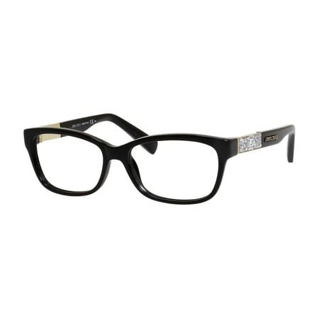 451dca8e3ca5 JIMMY CHOO Eyeglasses 110 029A Shiny Black 53MM - Walmart.com