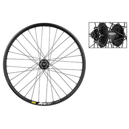 Wheel Front 26X1.5 Mavic Xm119 Disc Bk 32 M525 Bk