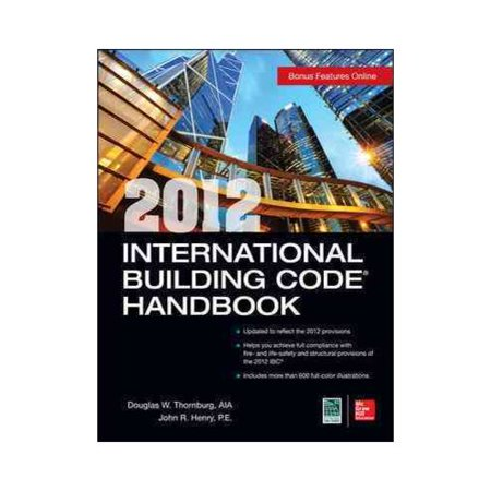 2012 International Building Code Handbook by